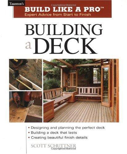 Building a Deck 9781561584796