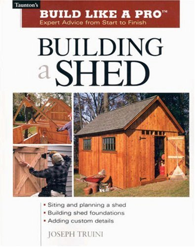 Building a Shed 9781561586196