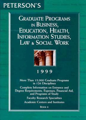 Business, Education, Health, Information Studies, Law & Social Work 9781560799863