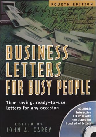 Business Letters for Busy People 9781564146120