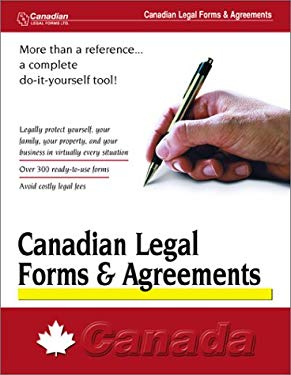 Canadian Legal Forms & Agreements 9781563828577