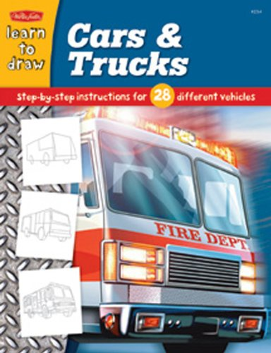 Cars & Trucks: Step by Step Instructions for 28 Different Vehicles 9781560108191