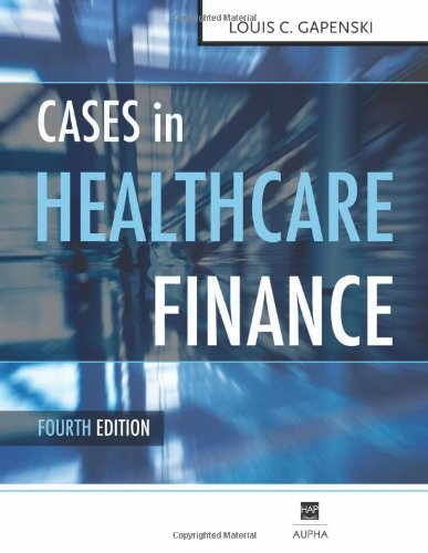 Cases in Healthcare Finance 9781567933420