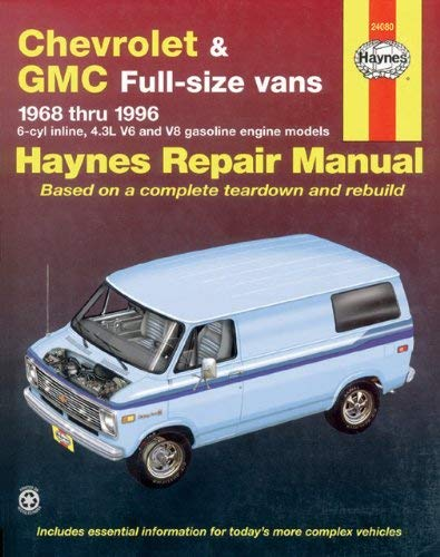 Chevrolet & GMC Full-Size Vans 1968 Thru 1996 9781563921971