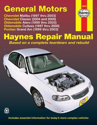 Chevrolet, Oldsmobile, Pontiac Automotive Repair Manual: Malibu, Alero and Cutlass, Grand Am 9781563925375
