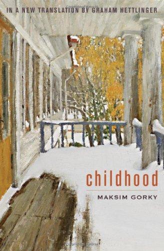 "book jacket ""Childhood"" by Maxim Gorky"