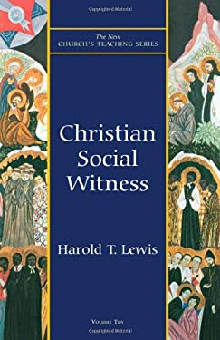 Christian Social Witness 9781561011889