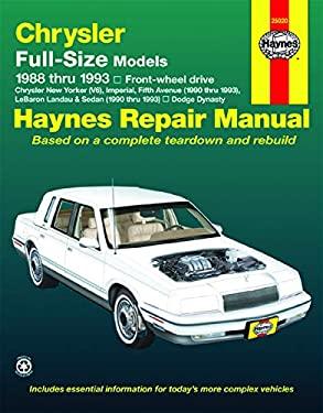 Chrysler Full-Size Models, 1988-1993 9781563920585
