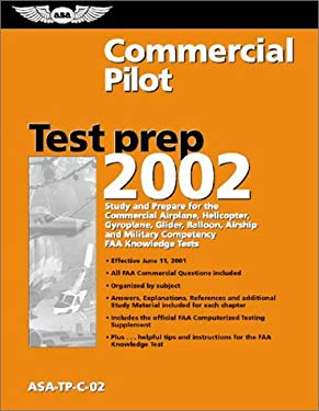 Commerical Pilot Test Prep: ASA-TP-C-02 [With Computer Testing Supplement for Commercial Pilot] 9781560274322