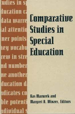 Comparative Studies in Special Education 9781563680274
