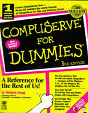 CompuServe for Dummies [With Win & Mac Versions of CompuServe, 10 Free Hours] 9781568848631
