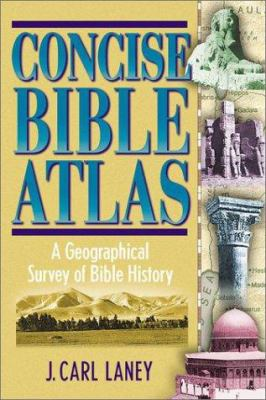 Concise Bible Atlas 9781565633667