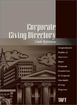 Corporate Giving Directory 9781569954362