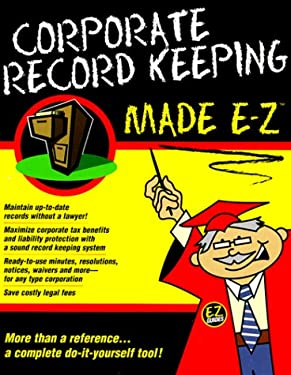 Corporate Record Keeping 9781563823138