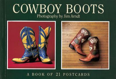 Cowboy Boots Postcard Book