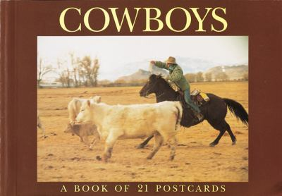 Cowboys Postcard Book 9781563137839
