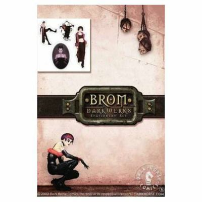 Brom Darkwerks Stationery Set [With Sticker(s) and 6 Envelopes and 8 Letter Sheets] 9781569719299