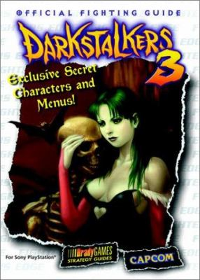 Darkstalkers 3: Official Fighting Guide 9781566868525
