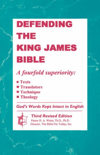 Defending the King James Bible 9781568480121