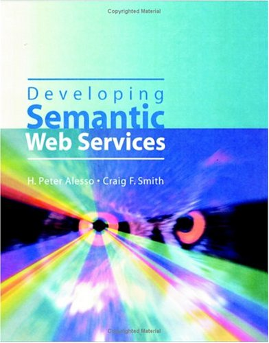 Developing Semantic Web Services 9781568812120