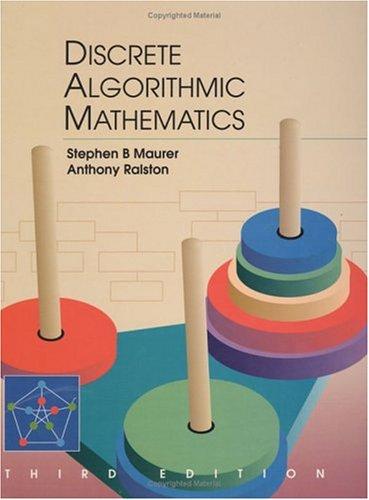 Discrete Algorithmic Mathematics, Third Edition 9781568811666