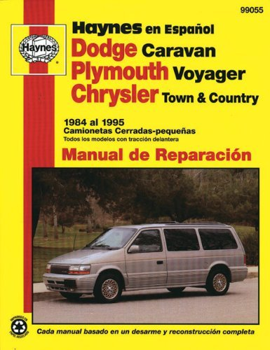 Dodge Caravan, Plymouth Voyager, Chrysler Town and Country 1984 Al 1995: Camionetas Cerradas-Pequenas