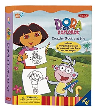 Dora the Explorer Drawing Book and Kit 9781560108290