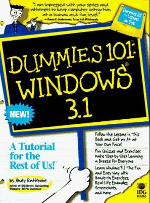 Dummies 101: Windows 3.1 [With *] 9781568846279