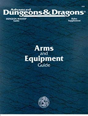 Dungeons and Dragons: Advanced Dungeons and Dragons: Dmgr3, Arms and Equipment Guide-Accessory 9781560761099