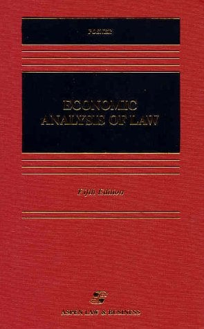 Economic Analysis of Law, Fifth Edition