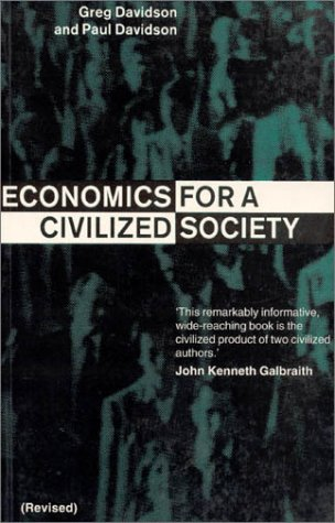 Economics for a Civilized Society 9781563248948