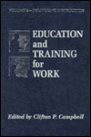 Education and Training for Work 9781566764186