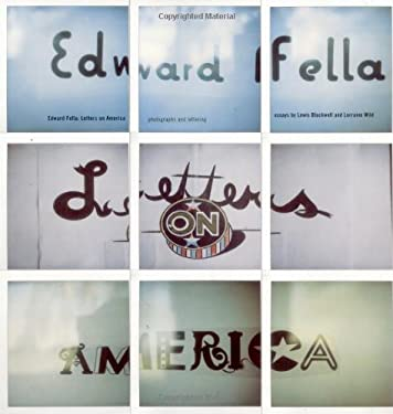Edward Fella: Letters on America 9781568982175