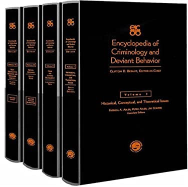 Encyclopedia of Criminology and Deviant Behaviour 9781560327721