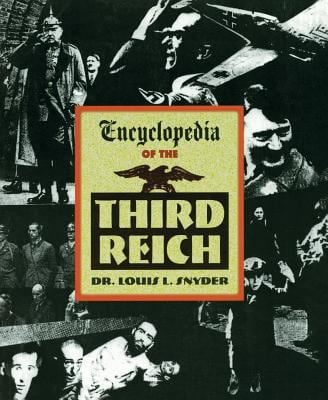 Encyclopedia of the Third Reich 9781569249178