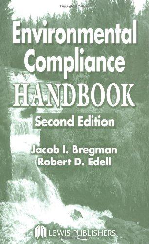 Environmental Compliance Handbook, Second Edition 9781566705653
