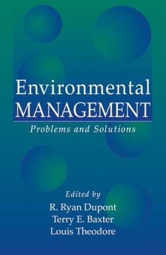 Environmental Management 9781566703161