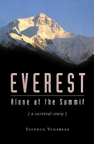 Everest: Alone at the Summit, (a Survival Story) 9781560252894