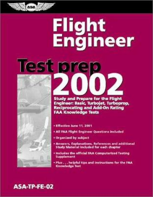 Flight Engineer Test Prep: ASA-TP-FE-02 [With Computer Testing Supplement for Flight Engineer] 9781560274346