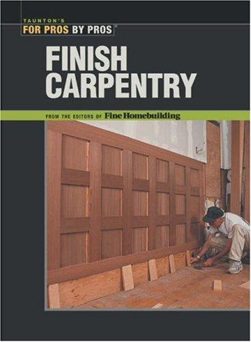 Finish Carpentry 9781561585366
