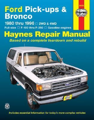 Ford Full-Size Pickups and Bronco, 1980-1996