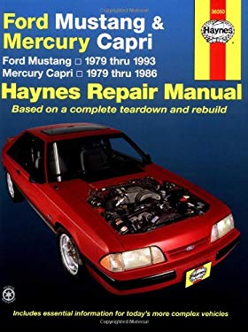 Ford Mustang and Mercury Capri, 1979-1993 9781563921308