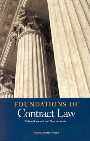 Foundations of Contract Law 9781566629904