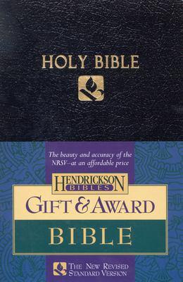 Gift & Award Bible-NRSV 9781565634619