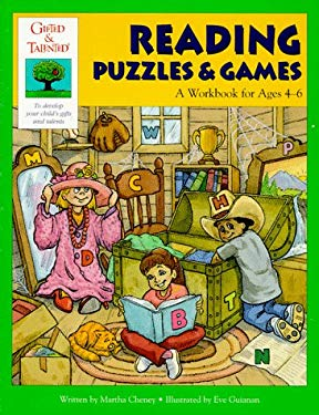 Gifted and Talented: Reading Puzzles and Games 9781565655027