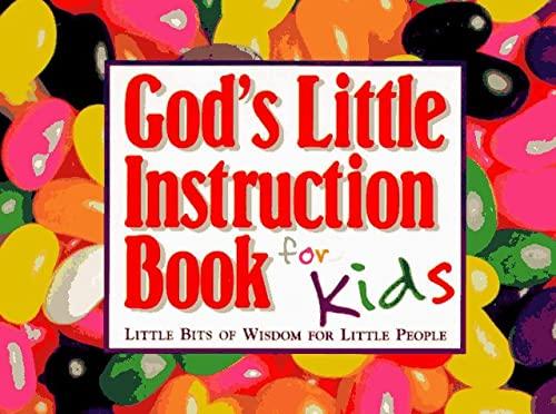God's Little Instruction Book for Kids 9781562923457