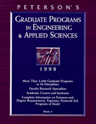 Graduate Programs in Engineering & Applied Sciences: Book 5 9781560797951