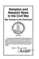 Hampton and Newport News in the Civil War: War comes to the Peninsula (Virginia Civil War battles and leaders series)