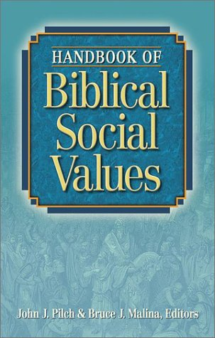 Handbook of Biblical Social Values 9781565633551
