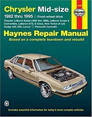 Haynes Chrysler Mid-Size Cars Repair Manual, 1982-1995 9781563921964